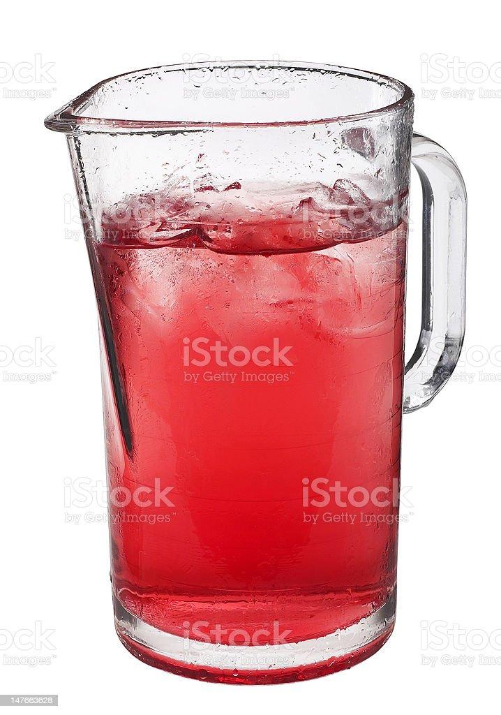 Jug of Juice royalty-free stock photo