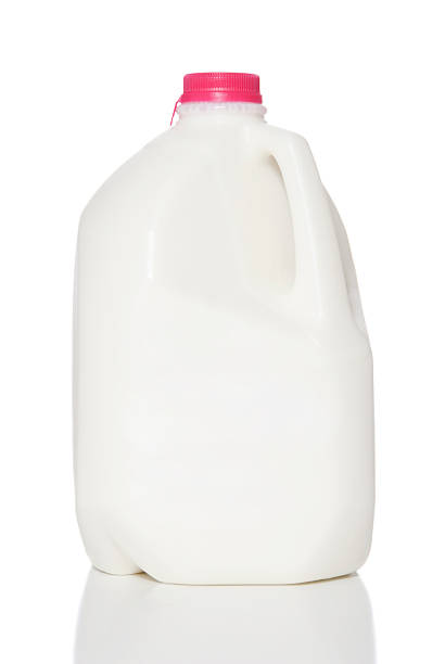 Jug of Milk  gallon stock pictures, royalty-free photos & images
