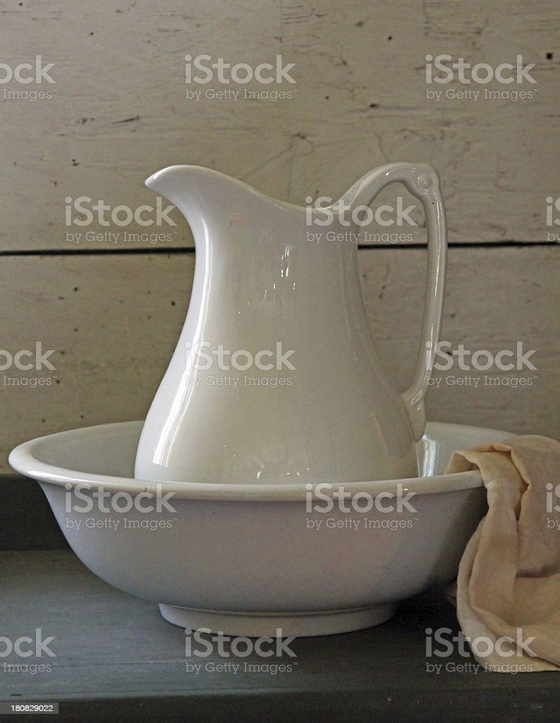 Jug stock photo