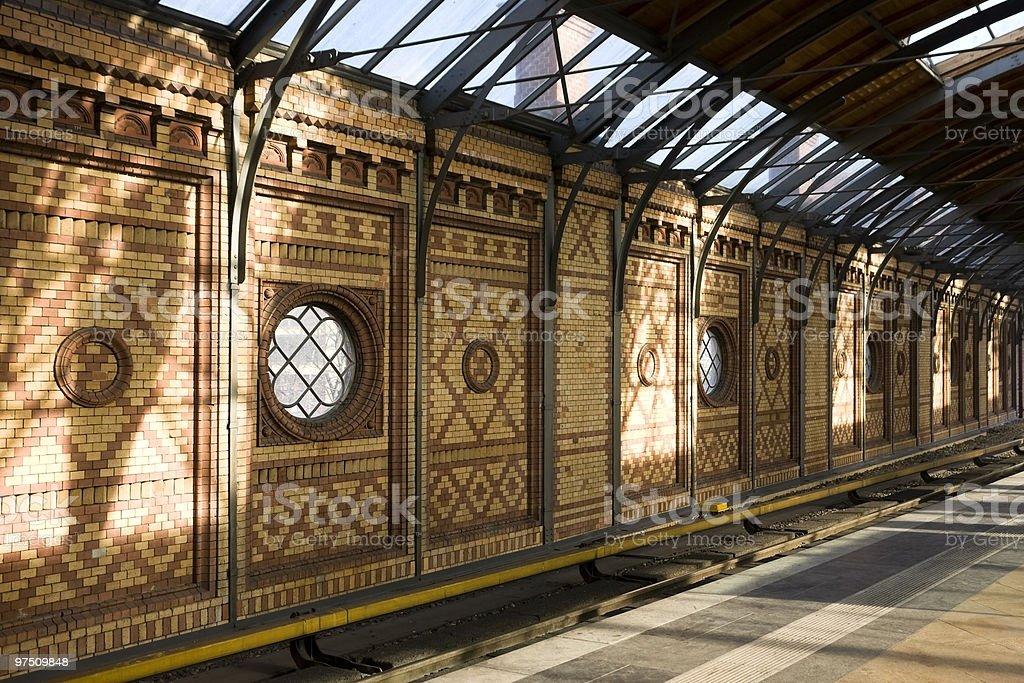 Jugendstil  subway royalty-free stock photo