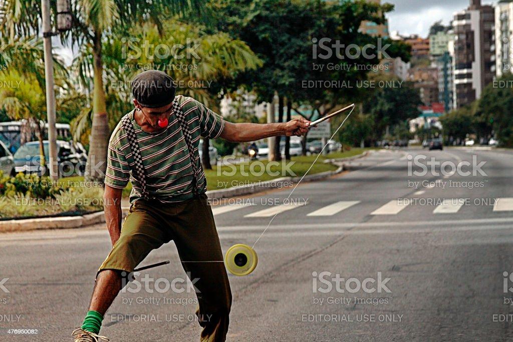 juggler stock photo