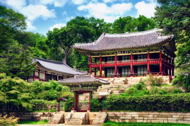 Juhamnu Pavillon, Seoul, Südkorea – Foto