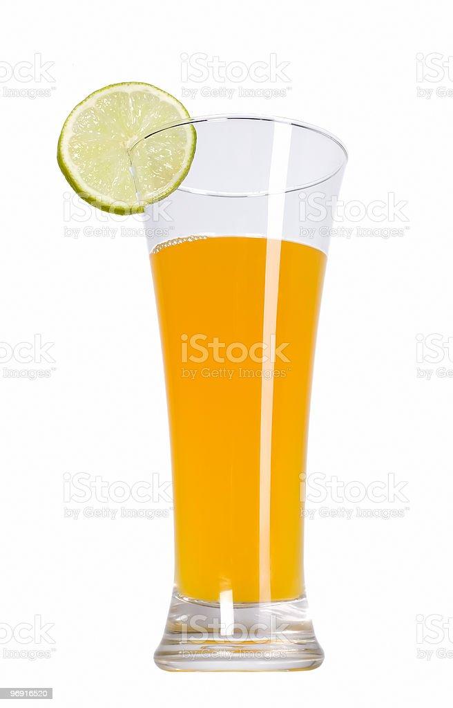 Juice and lemon fruit royalty-free stock photo