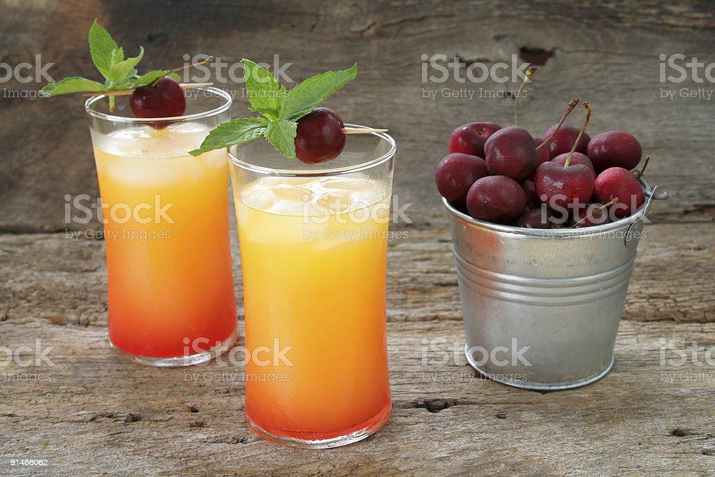 Juice Drink/ Cocktail stock photo