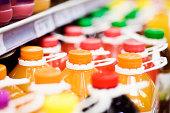 ジュース、スーパーマーケット