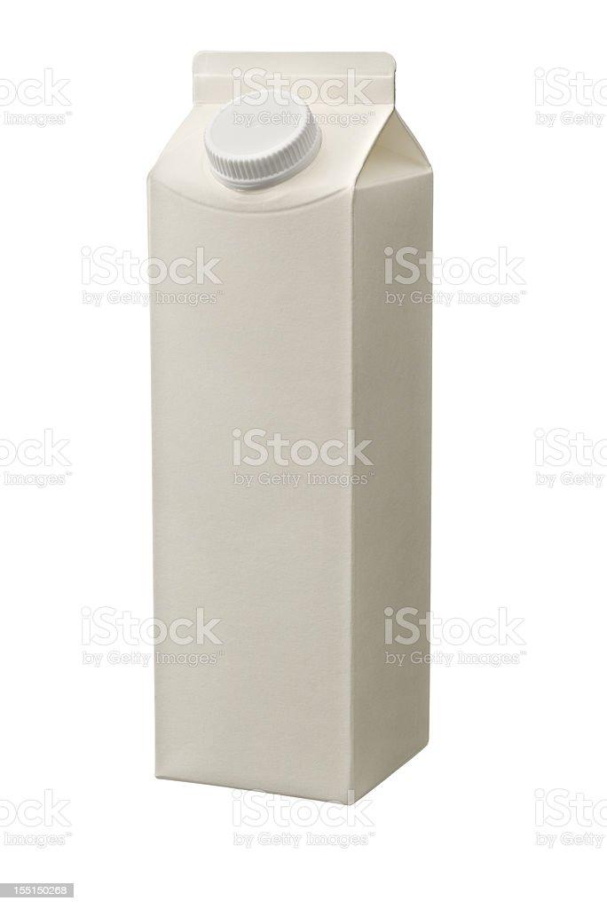 Juice Milk Yogurt carton stock photo