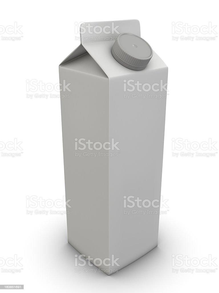 Iogurte de leite, suco - foto de acervo