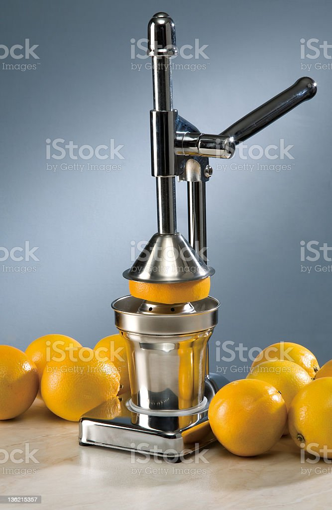 juicer stock photo
