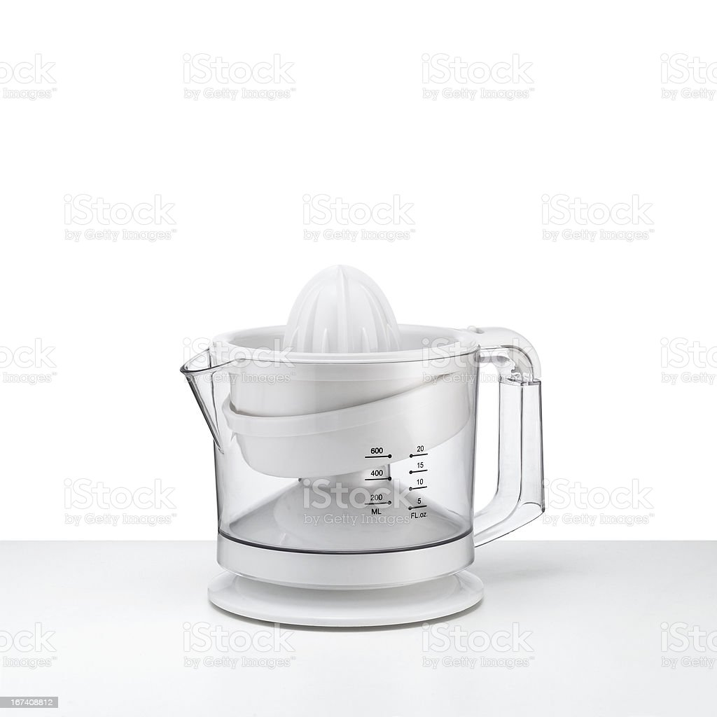 juicer with clipping path royalty-free stock photo