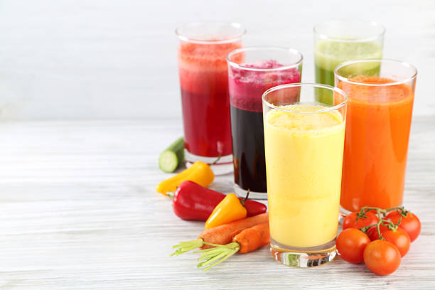 juices stock photo