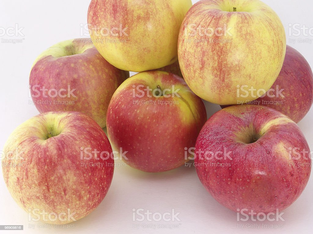 Juicy apples royalty-free stock photo