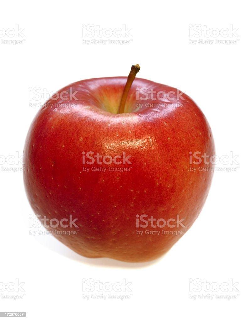 Juicy Braeburn Apple stock photo