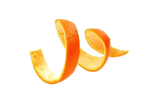 Suculenta laranja fresca isolada no fundo branco - foto de acervo