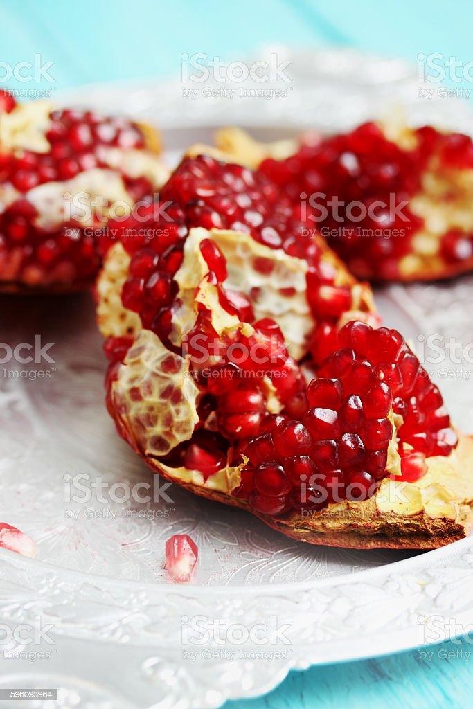juicy fruit pomegranate Lizenzfreies stock-foto