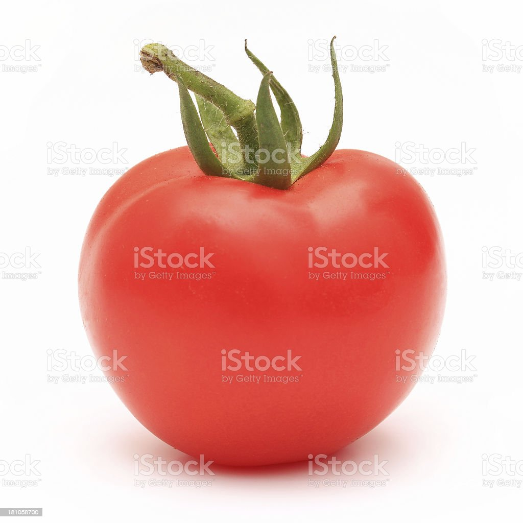 Juicy Isolated Tomato royalty-free stock photo