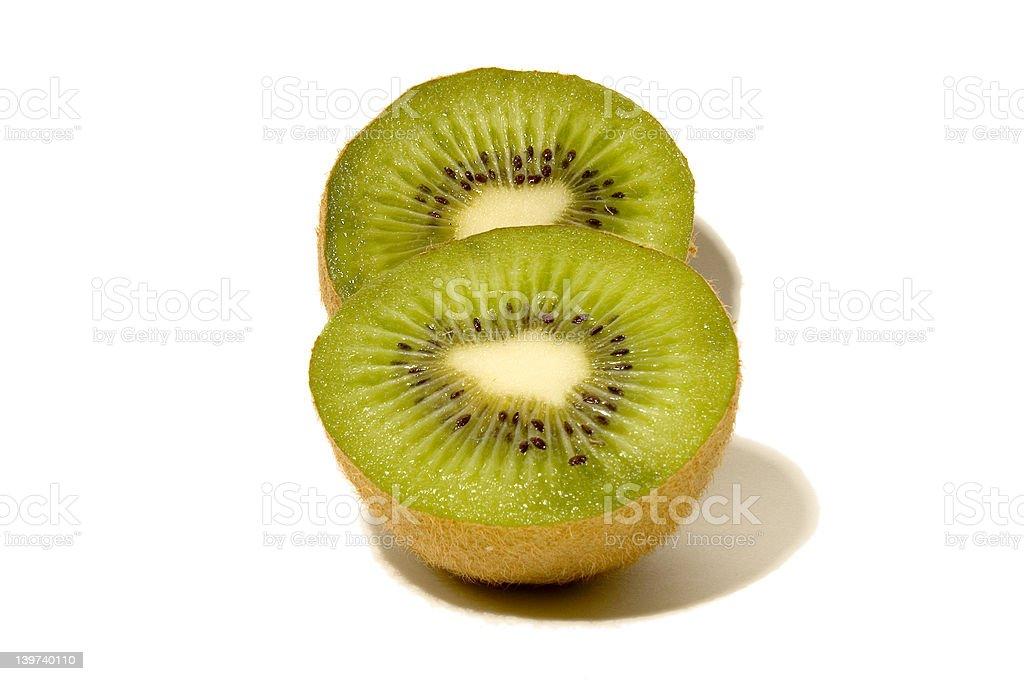 Juicy Kiwi (Shadow, Vertical) royalty-free stock photo