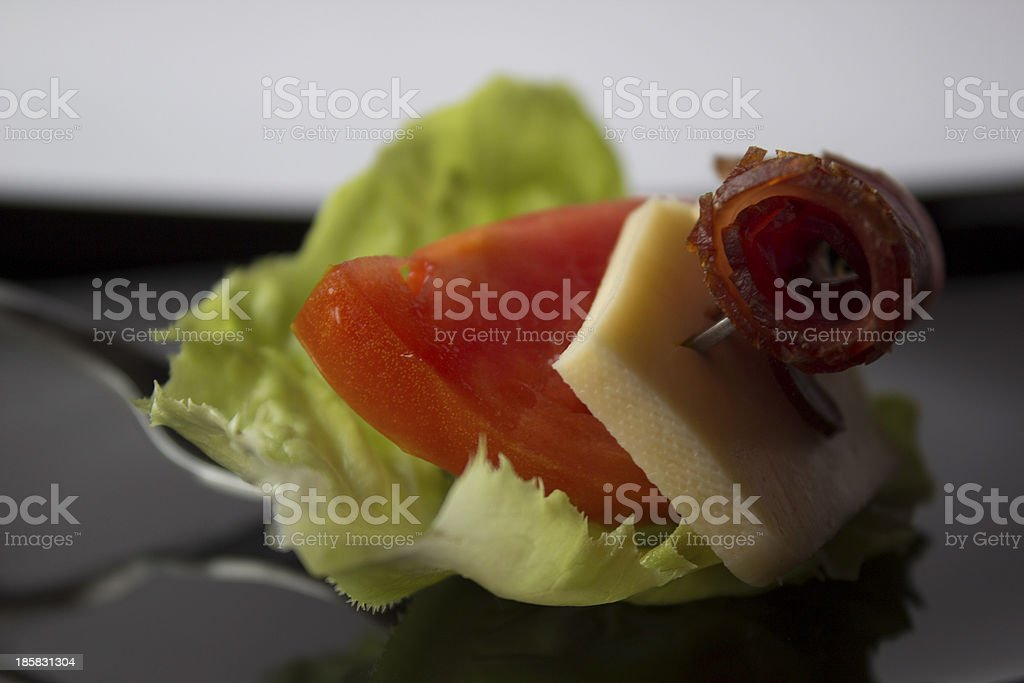 Juicy Mouthful royalty-free stock photo