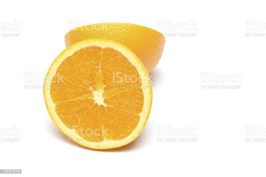 Juicy Navel Oranges royalty-free stock photo