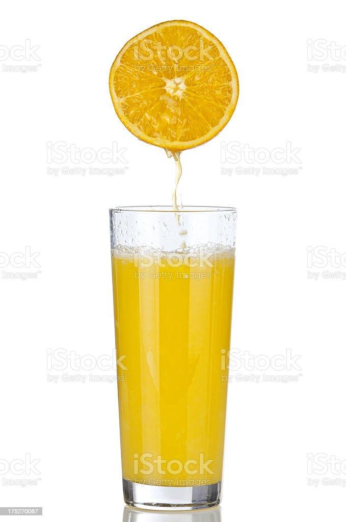 juicy orange royalty-free stock photo