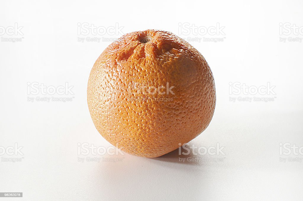 juicy orange royalty-free stock photo