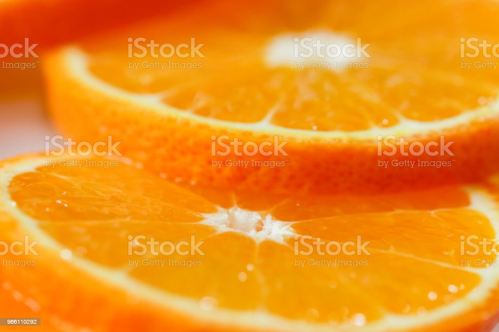 Juicy orange slices - Royalty-free Antioxidant Stock Photo