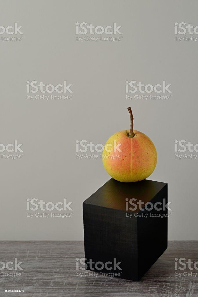 Juicy pear stock photo