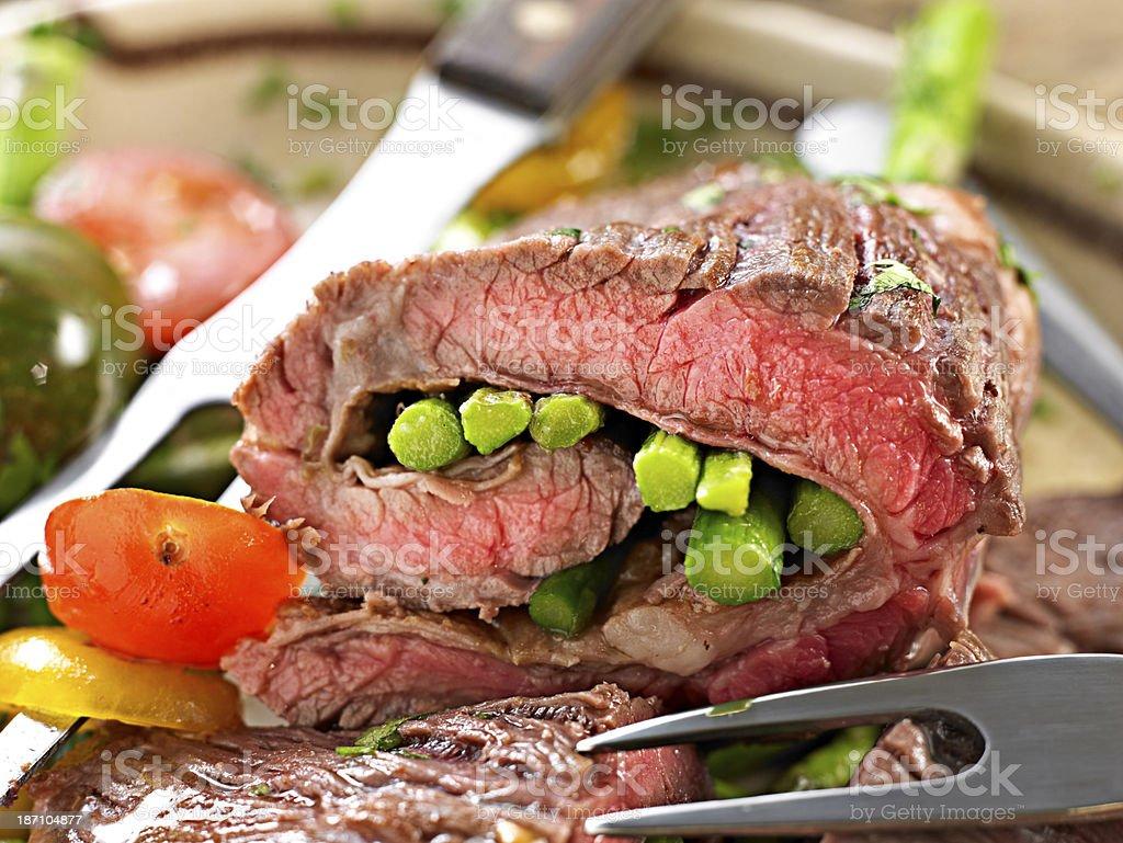Juicy Skirt Steak stock photo