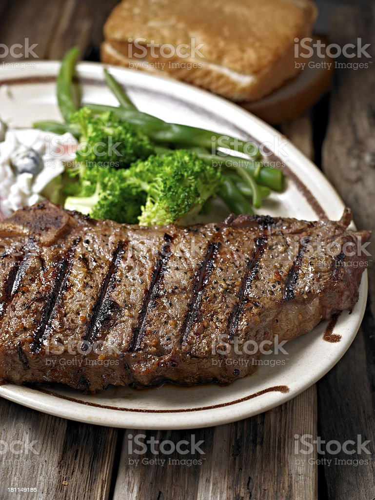 Juicy Steak royalty-free stock photo