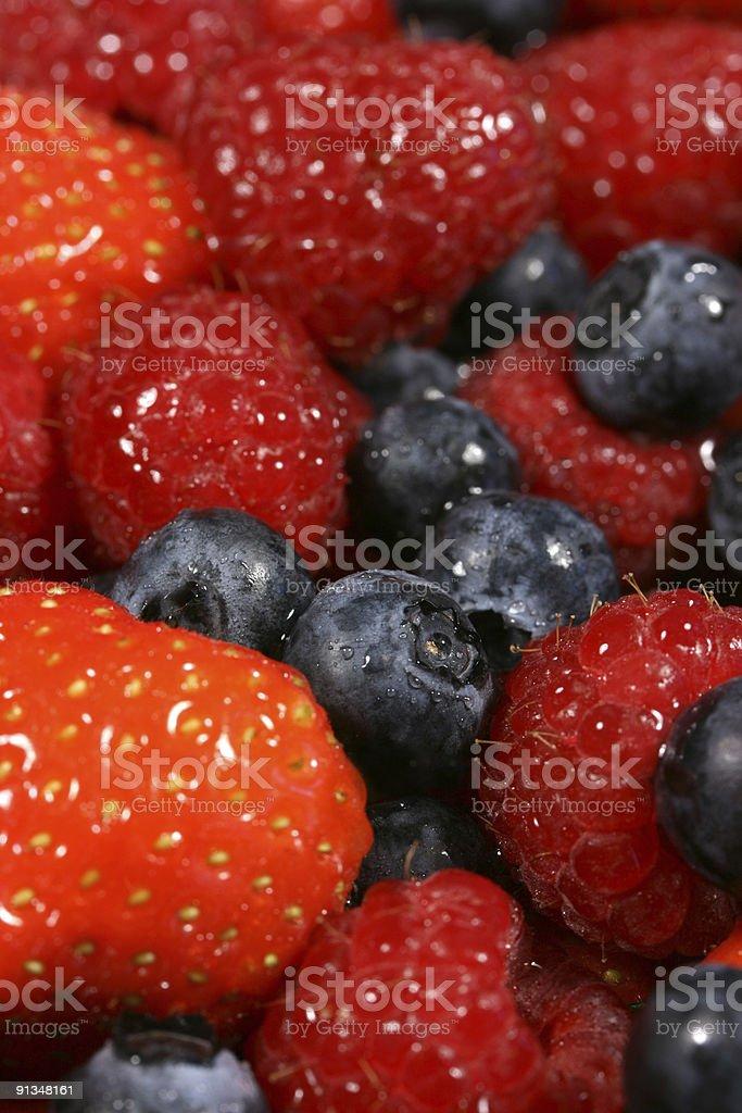 Juicy Summer Fruit stock photo