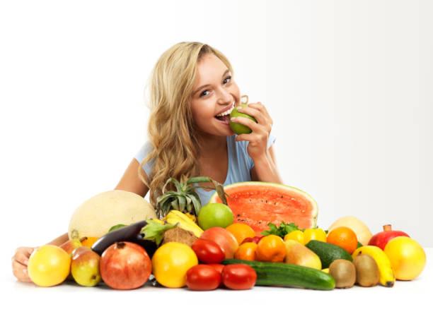 saftiges, süß und köstlich!  frische produkte - melonenbirne stock-fotos und bilder