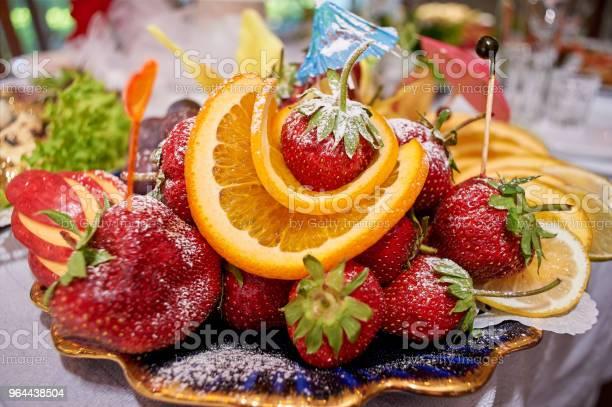 Foto de Bagas Doces Suculentas Em Açúcar Em Pó e mais fotos de stock de Açúcar
