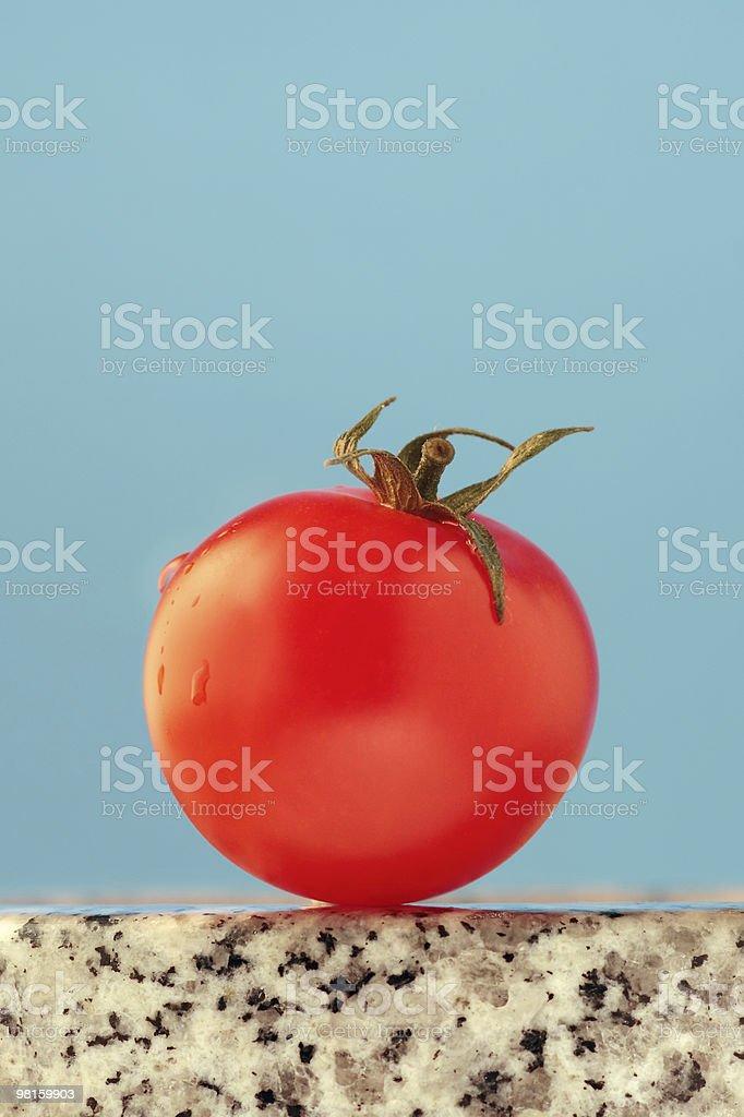 Juicy tomato royalty-free stock photo