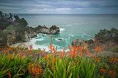 City of Monterey - California, California, McWay Waterfall, Beach, Big Sur