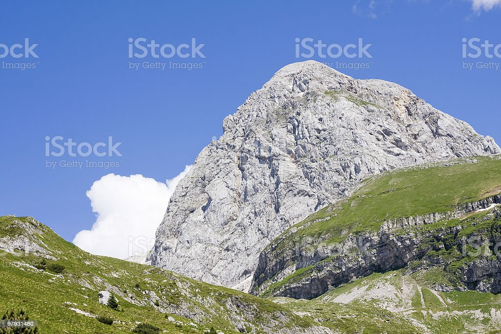 julian alps royalty-free stock photo