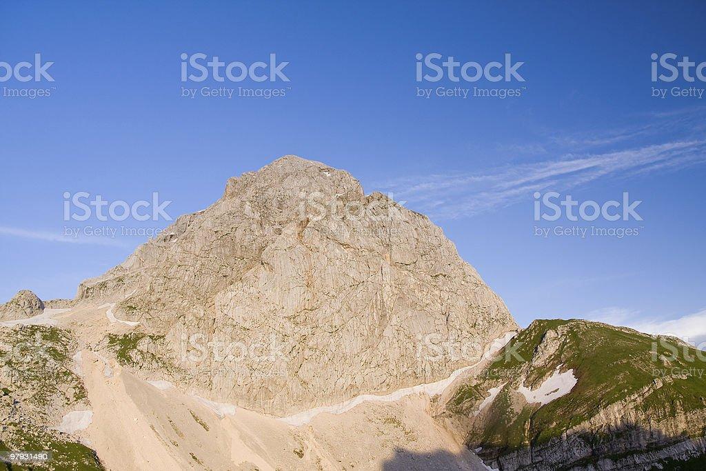 julian alps royalty-free stock photo