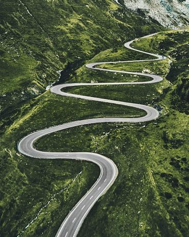 istock julier pass road in switzerland 926668162