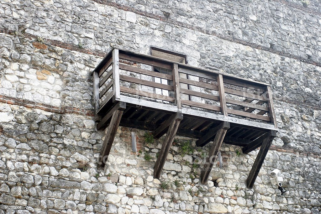 Juliet's Castle stock photo
