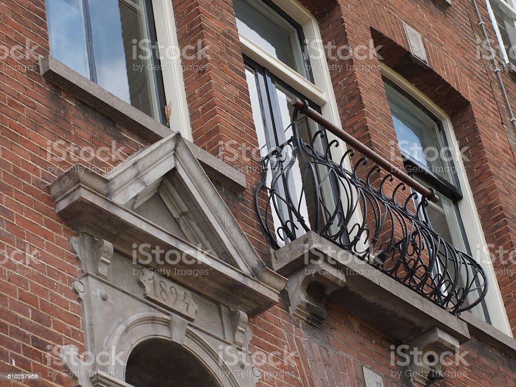 Juliette balcony stock photo
