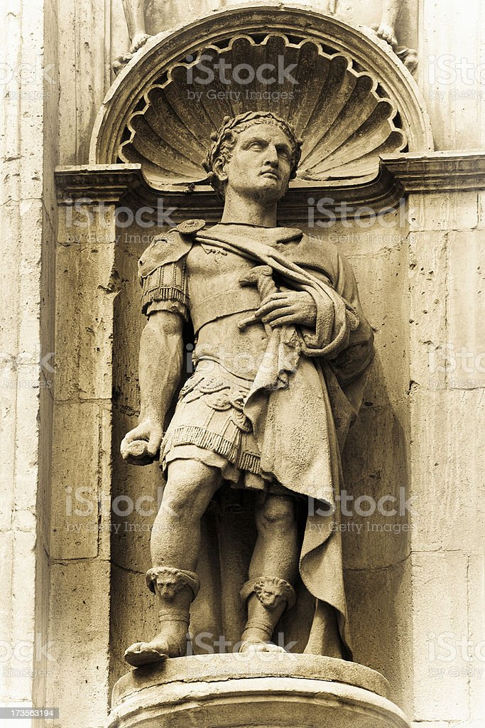 Julius Caesar royalty-free stock photo