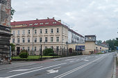 istock Juliusz Slowacki Street with the District Court and the Correctional Facility. 1275825106