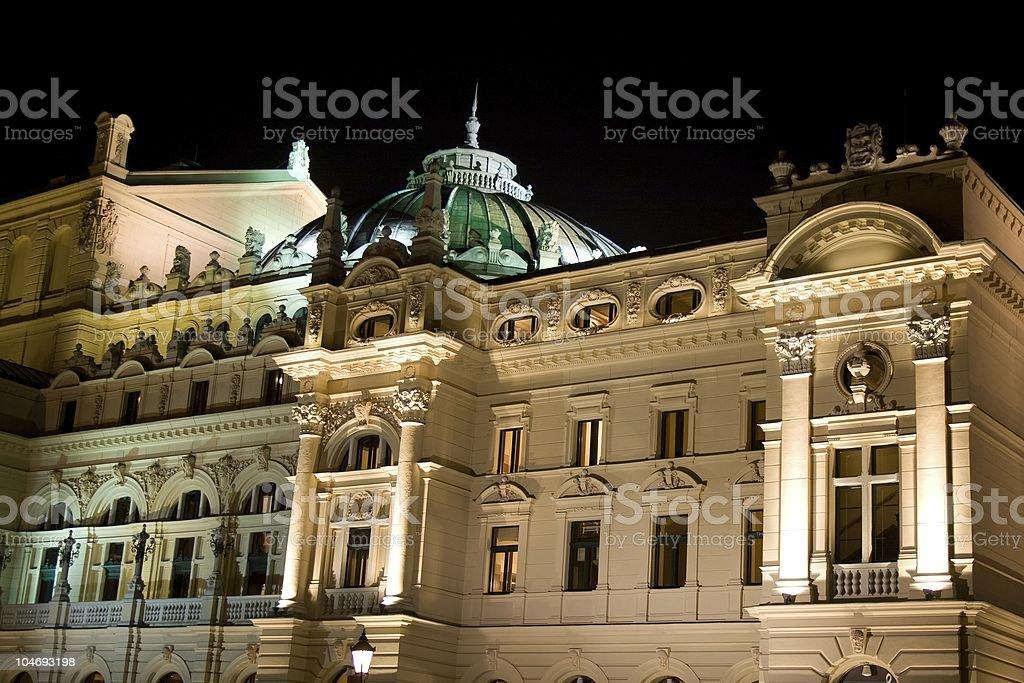 Juliusz Slowacki Theater stock photo