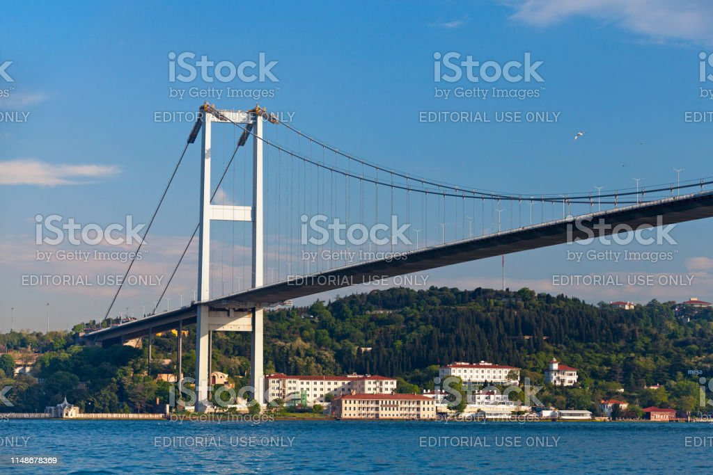 July 15 Martyrs' Bridge in Istanbul - Royalty-free Architecture Stock Photo