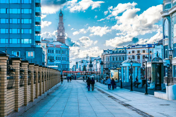 Juli 29, Kazan, Russland in den Straßen von St. Petersburg. – Foto