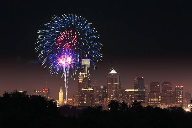 July 4h Firework in Philadelphia