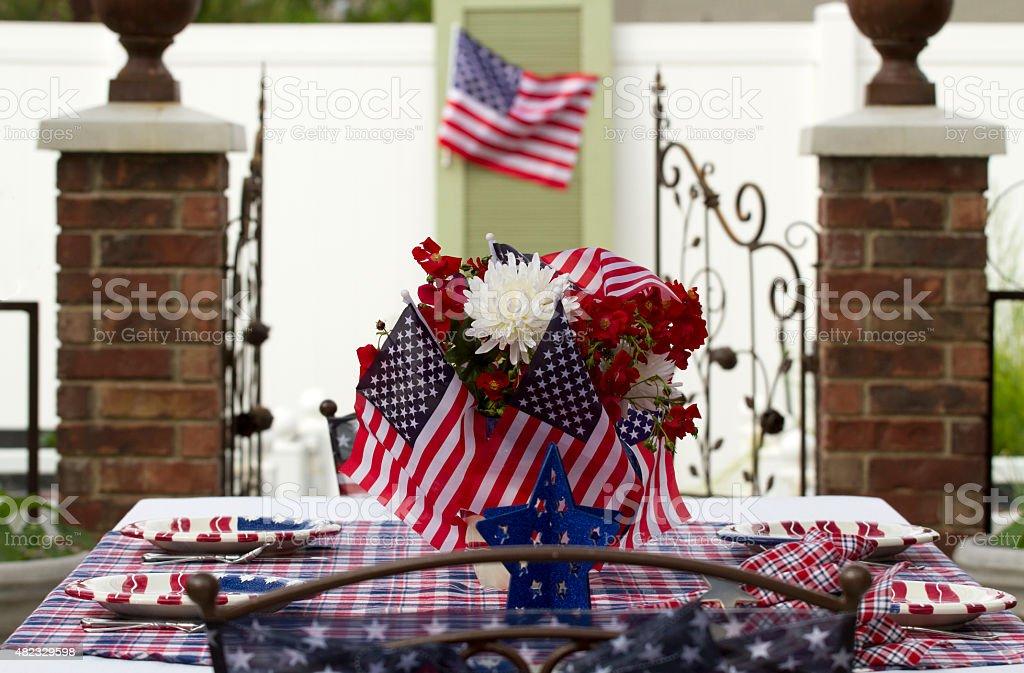July 4th Celebration stock photo