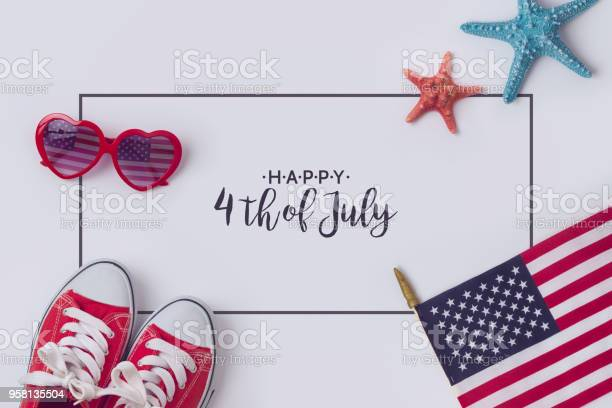 July 4th Concept Stock Photo - Download Image Now