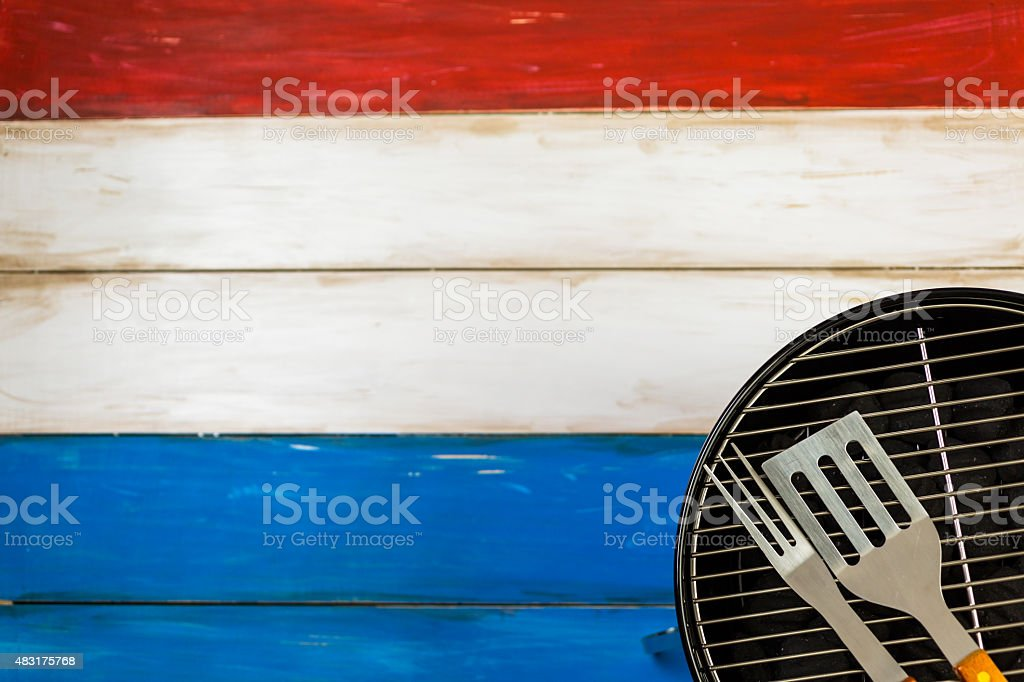July 4th stock photo