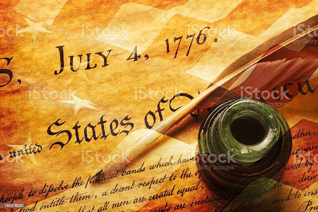 July 4th,1776 stock photo