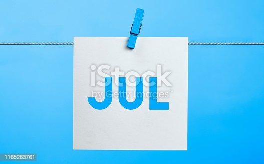 istock July Calendar Concept 1165263761