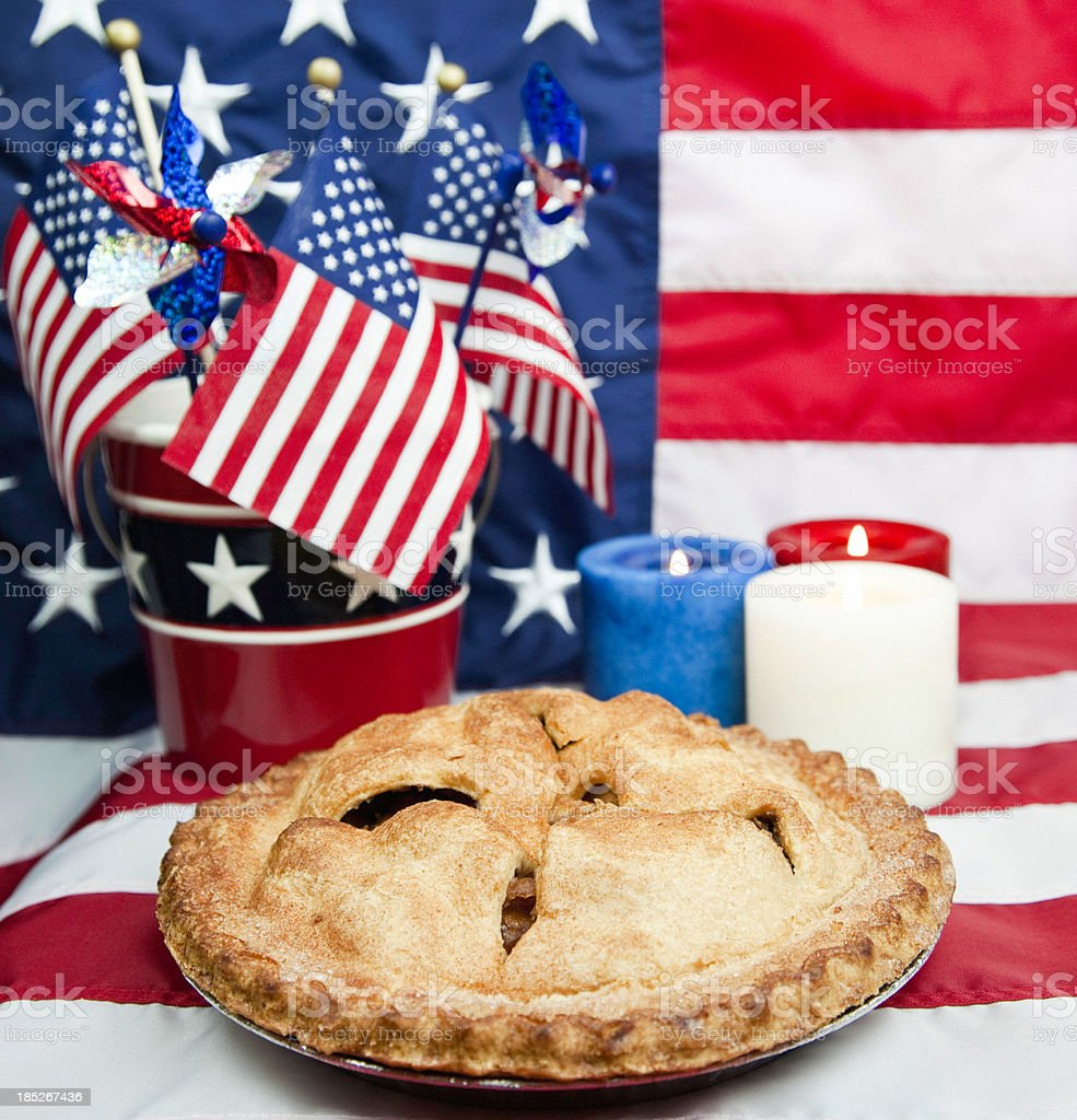 July Fourth Patriotic Celebration stock photo